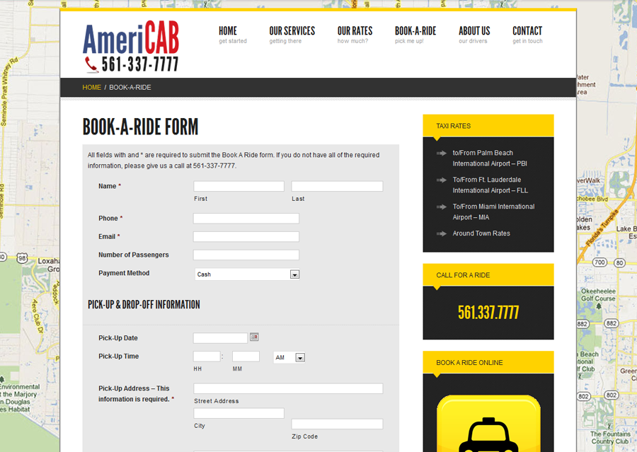 Americab Contact Form