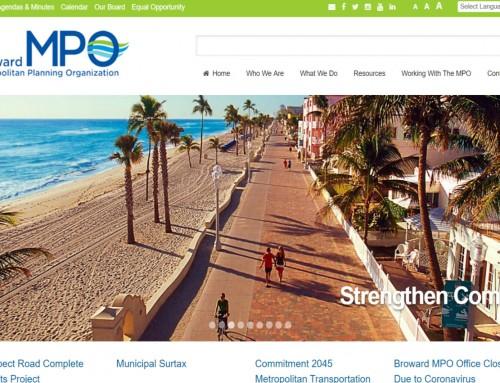 Broward MPO Web Design